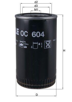 OC 604 KNECHT Ölfilter für AVIA online bestellen