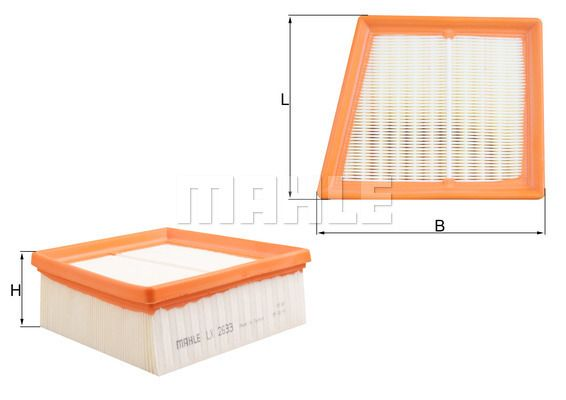 LX 2633 KNECHT Luftfilter für FORD online bestellen