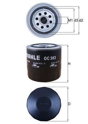 OC 383 KNECHT Ölfilter für FORD online bestellen