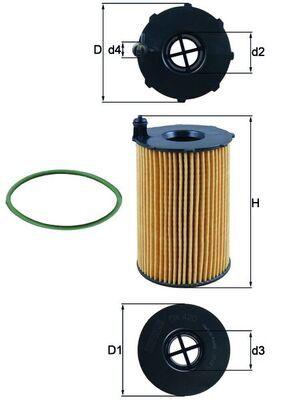 Ölfilter KNECHT OX 420D