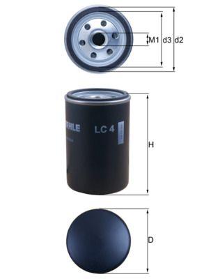 LC 4 KNECHT Luftfilter für AVIA online bestellen