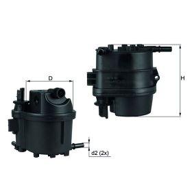 0070551385 KNECHT Leitungsfilter Höhe: 124,1mm Kraftstofffilter KL 779 günstig kaufen