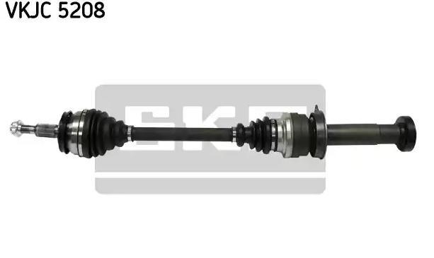 PIAGGIO APE Halbachsen - Original SKF VKJC 5208 Länge: 857mm, Außenverz.Radseite: 38, Zahnlücken Getriebeseite Anschl. Getriebe: 26