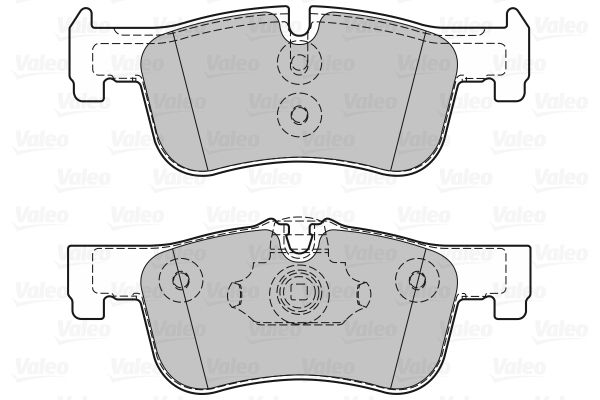 Bremsbelagsatz VALEO 601318