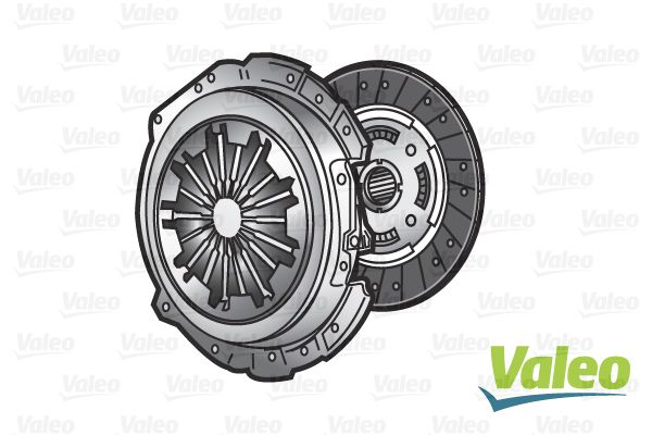 Mercedes A-Class 2016 Clutch kit VALEO 828449: with clutch pressure plate, without central slave cylinder, with clutch plate