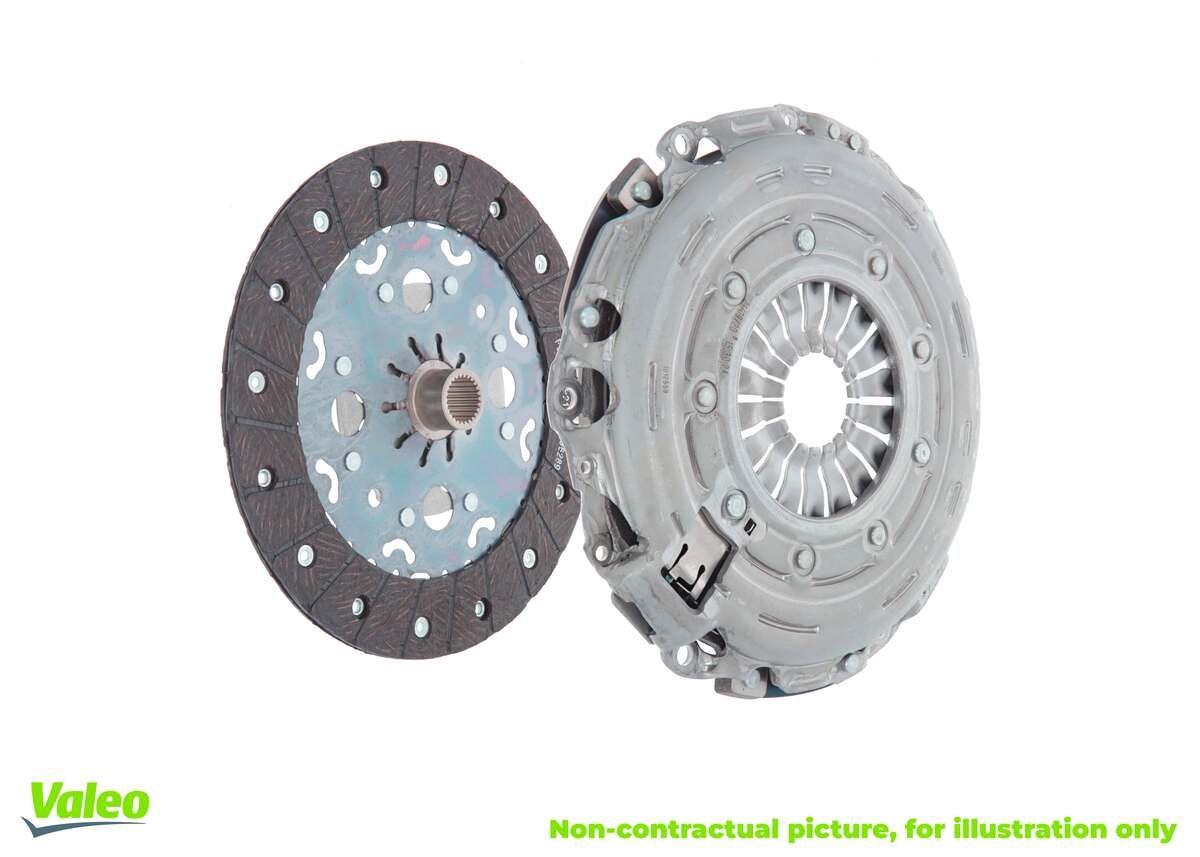 Σετ συμπλέκτη 828449 VALEO με μια εξαιρετική αναλογία τιμής - απόδοσης