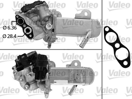 Buy cheap OEM parts: EGR Module VALEO 700451