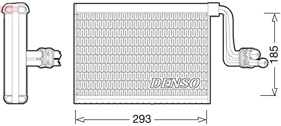 DENSO: Original Klimaverdampfer DEV05002 ()
