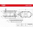 SKOP-1003 STARK Bremsbelagsatz, Scheibenbremse - online kaufen