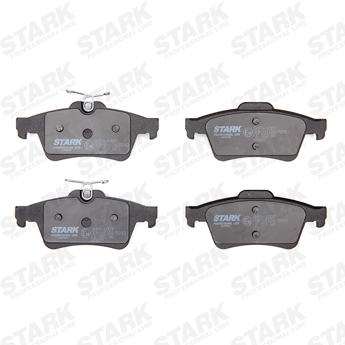 SKFO-1007 Bremsbelagsatz STARK - Markenprodukte billig