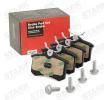 Bremsklötze SKAD-1023 mit vorteilhaften STARK Preis-Leistungs-Verhältnis