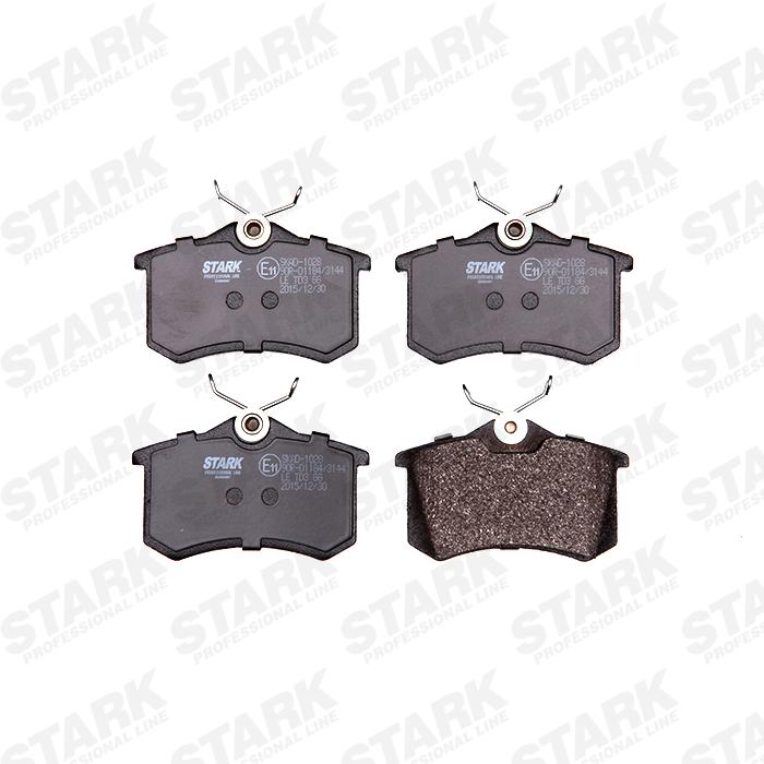 SKAD-1028 Bremsbelagsatz STARK - Markenprodukte billig