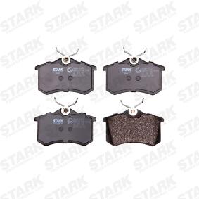 SKAD1028 Bremsbelagsatz, Scheibenbremse STARK SKAD-1028 - Große Auswahl - stark reduziert