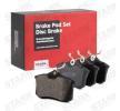 Günstige Bremsbelagsatz, Scheibenbremse mit Artikelnummer: SKAD-1028 OPEL CROSSLAND X jetzt bestellen
