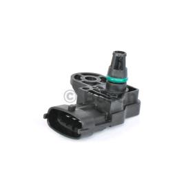 0261230245 Sensor, Saugrohrdruck BOSCH 0 261 230 245 - Große Auswahl - stark reduziert