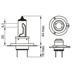 1987302777 Bulb, spotlight BOSCH - Experience and discount prices