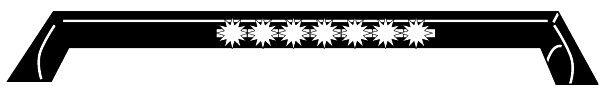 Front spoiler 8XE 008 029-101 HELLA — bara nya delar