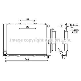 RTM497 AVA COOLING SYSTEMS mit Trockner Aluminium Kühlmodul RTM497 günstig kaufen