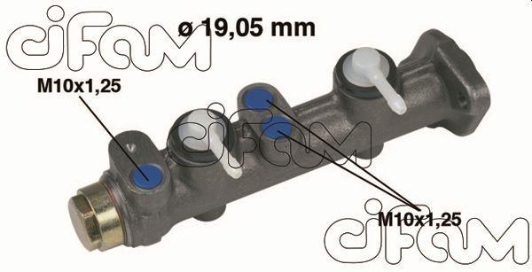 Accesorios y recambios SEAT 133 1978: Cilindro principal de freno CIFAM 202-005 a un precio bajo, ¡comprar ahora!