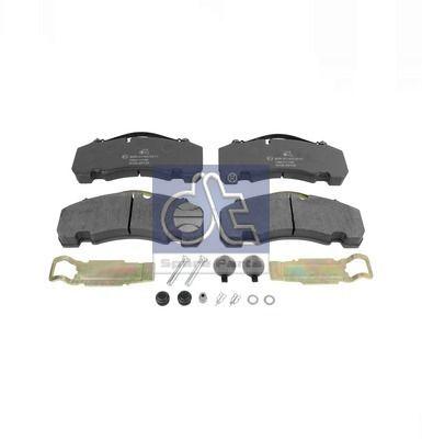 DT Bremsbelagsatz, Scheibenbremse für DENNIS - Artikelnummer: 10.14000