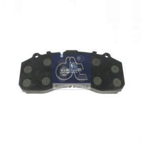 DT 490930 Fékbetét készlet, tárcsafék: vásároljon online
