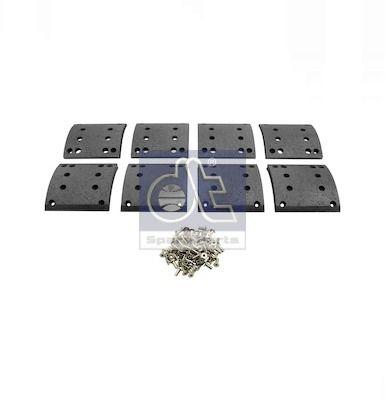Bremsbelagsatz, Trommelbremse DT 4.91131 mit 20% Rabatt kaufen