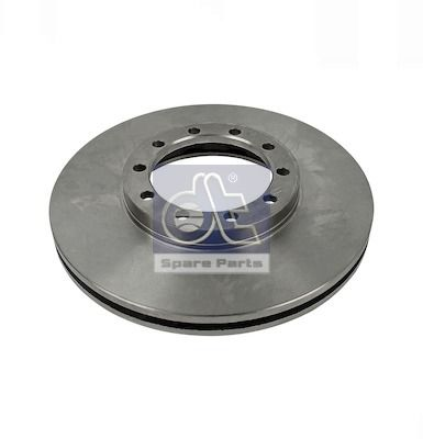 6.61021 DT Front Axle, Internally Vented Ø: 276mm, Num. of holes: 10, Brake Disc Thickness: 24mm Brake Disc 6.61021 cheap