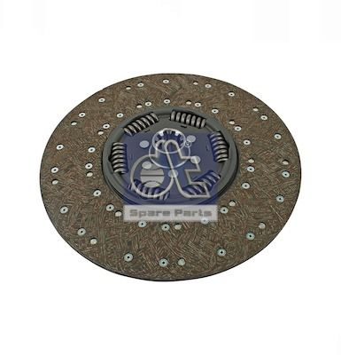 Clutch plate 7.18001 DT — only new parts