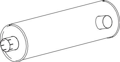 Original MINI Endschalldämpfer 64452