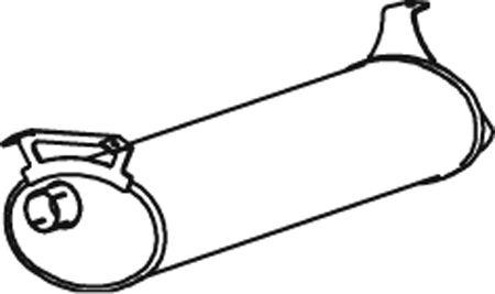 Original MINI Nachschalldämpfer 66341