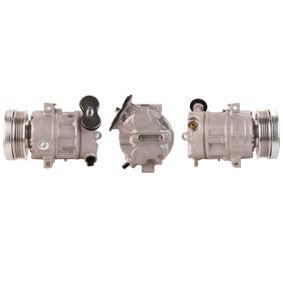 Compresor de polea embrague para Opel Corsa D combo 55701200 6854091