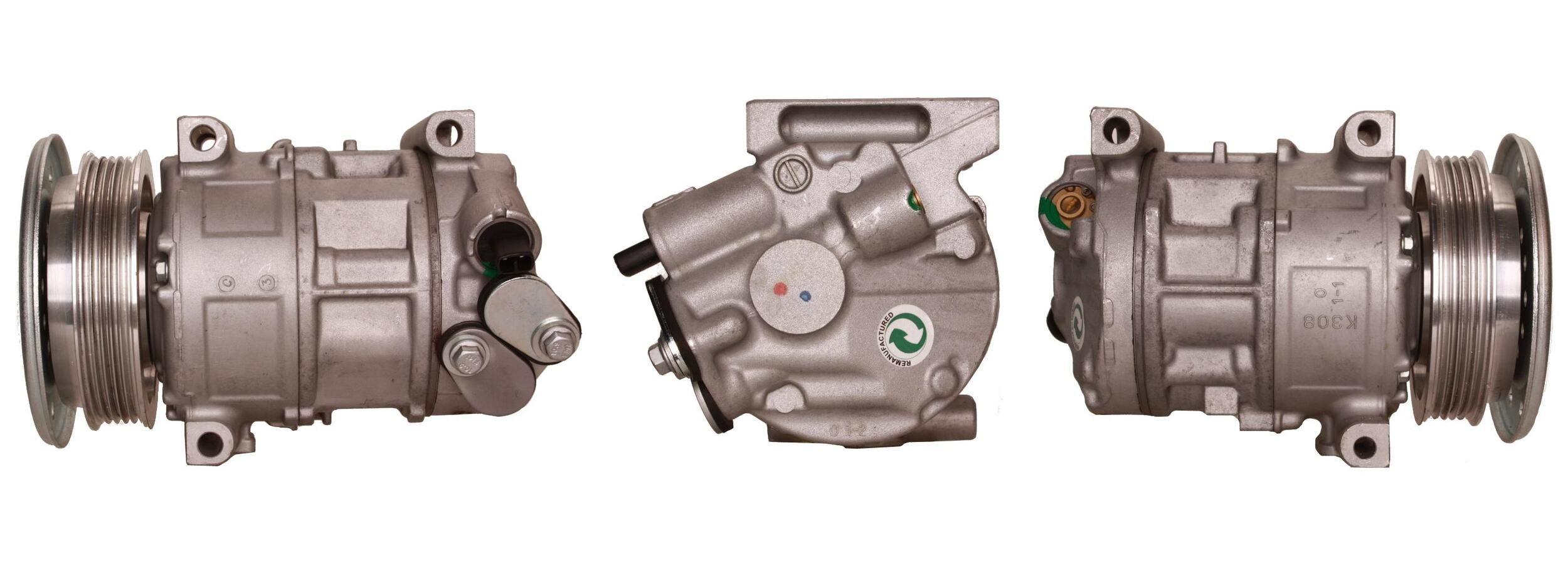 51-0455 ELSTOCK PAG 46, Kältemittel: R 134a Riemenscheiben-Ø: 110mm, Anzahl der Rillen: 5 Klimakompressor 51-0455 günstig kaufen