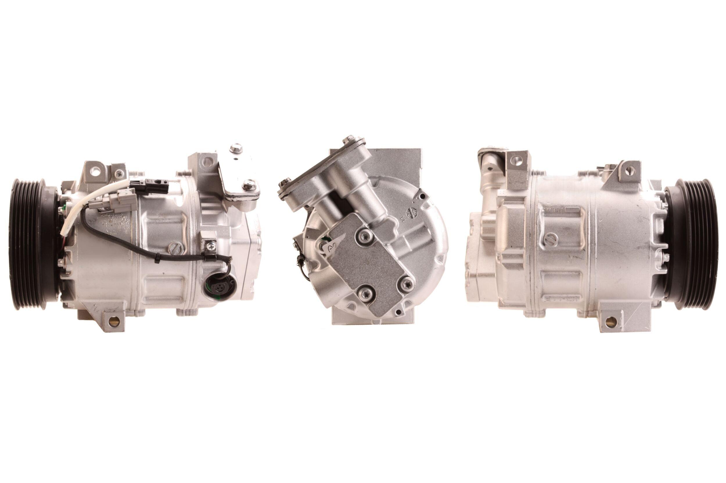 51-0591 ELSTOCK PAG 46, Kältemittel: R 134a Riemenscheiben-Ø: 120mm, Anzahl der Rillen: 6 Klimakompressor 51-0591 günstig kaufen