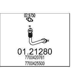 01.21280 MTS Länge: 450mm, vorne Abgasrohr 01.21280 günstig kaufen