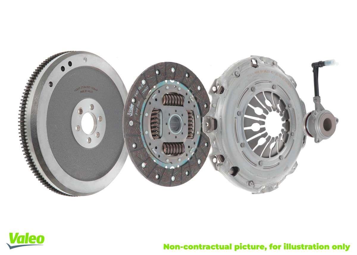 Pieces detachees VW Polo 9n 2008 : Kit d'embrayage VALEO 845050 — profitez des offres tout de suite!