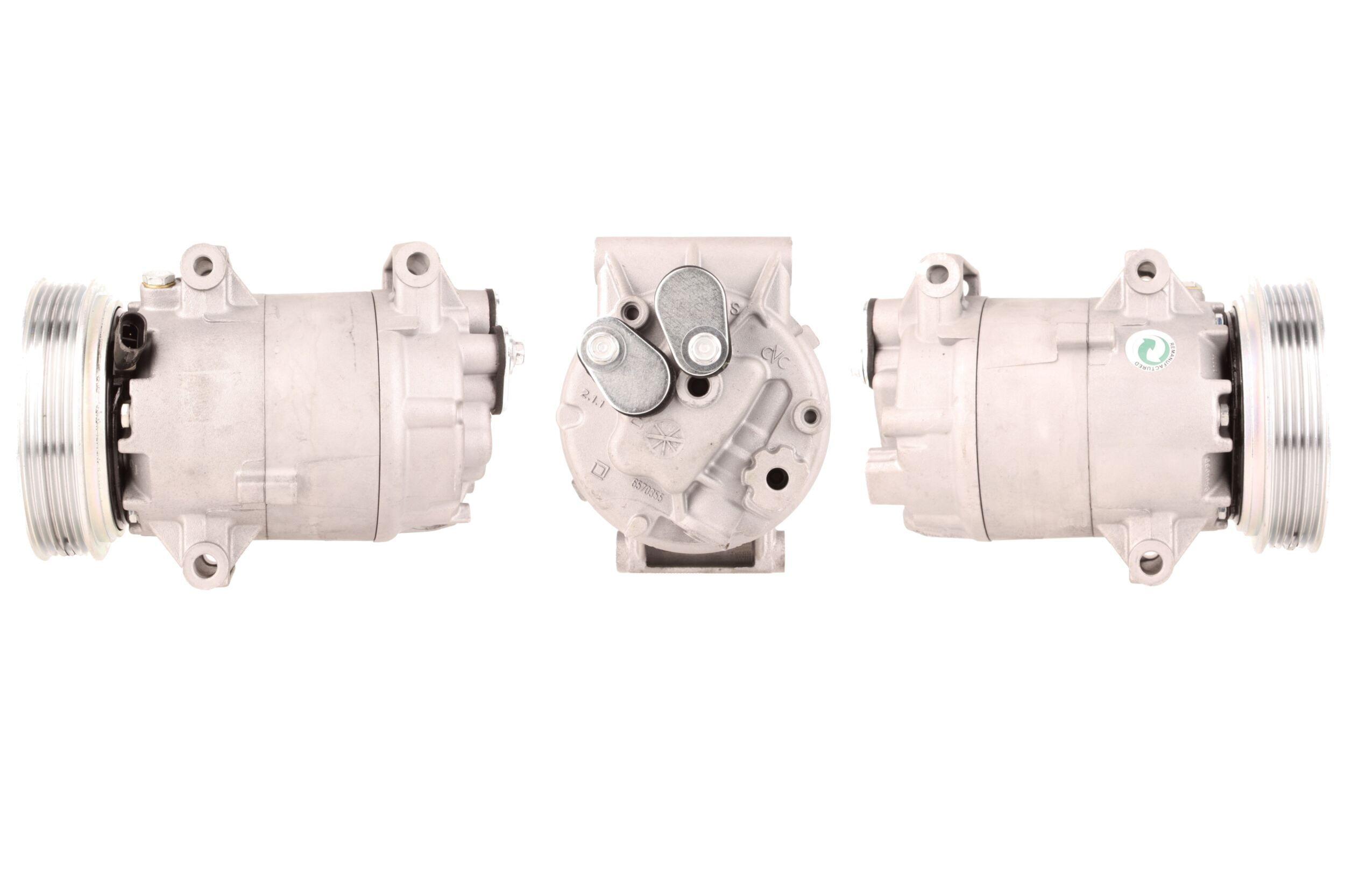 51-0094 ELSTOCK Kältemittel: R 134a Riemenscheiben-Ø: 130mm, Anzahl der Rillen: 6 Kompressor, Klimaanlage 51-0094 günstig kaufen