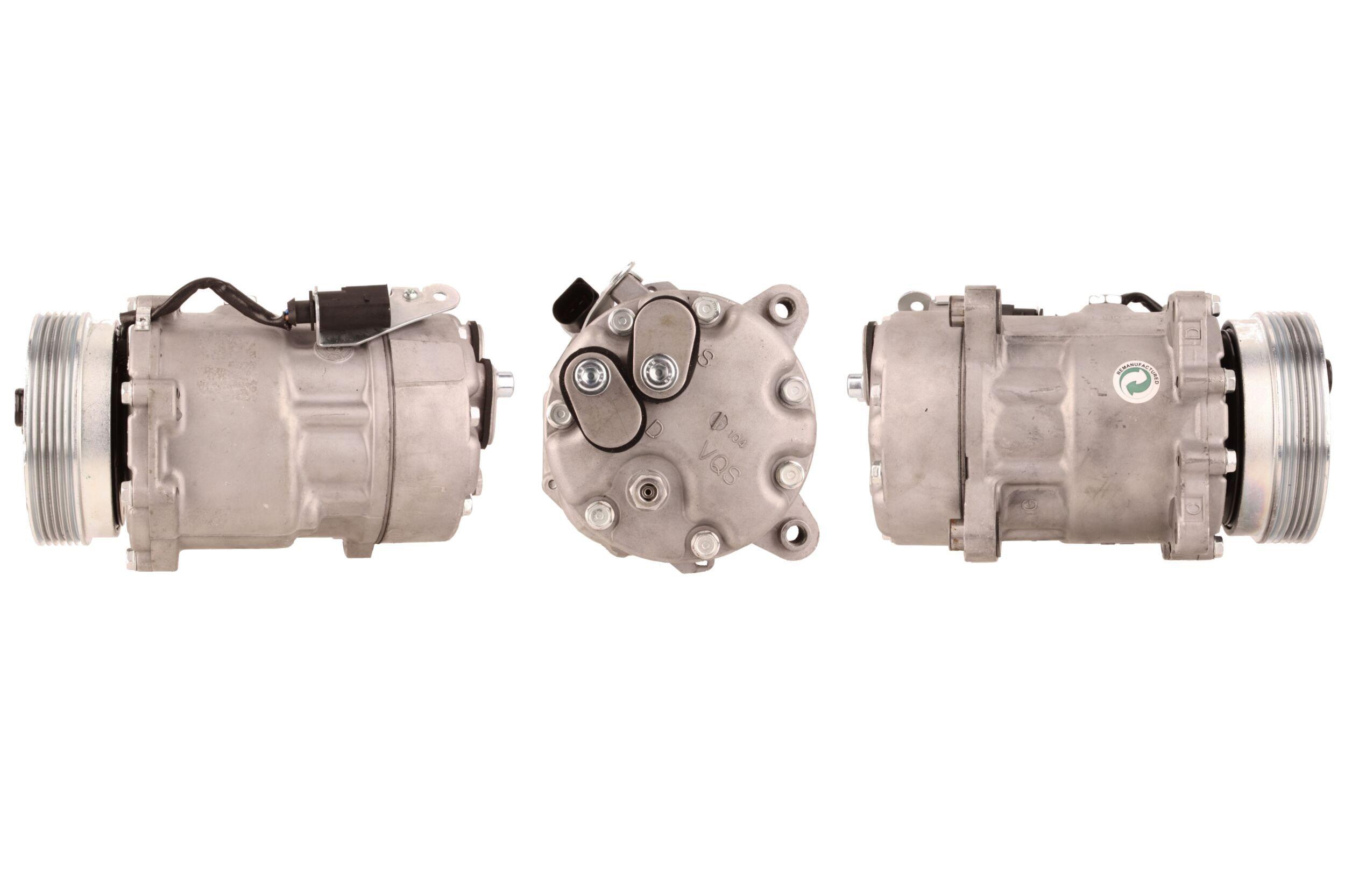 ELSTOCK: Original Kompressor 51-0008 (Riemenscheiben-Ø: 119mm, Anzahl der Rillen: 6)