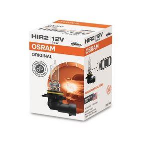 9012 Glödlampa, fjärrstrålkastare OSRAM originalkvalite