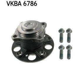 VKBA 6786 SKF med inbyggd ABS-sensor Hjullagerssats VKBA 6786 köp lågt pris