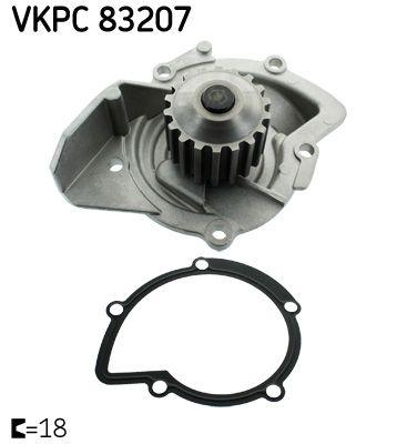 VKPC 83207 SKF für Zahnriementrieb Wasserpumpe VKPC 83207 günstig kaufen