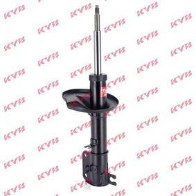 Купете 339790 KYB Excel-G на предната ос отдясно, газов, двутръбен, макферсън, амортисьор с натяг пружина Амортисьор 339790 евтино