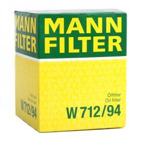 W712/94 Ölfilter MANN-FILTER Erfahrung