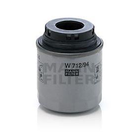 W 712/94 Ölfilter MANN-FILTER Test