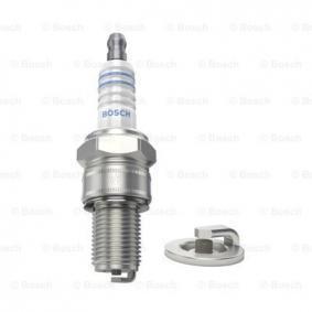 W2CC BOSCH Nickel Electrode Gap: 0,5mm Spark Plug 0 241 260 508 cheap