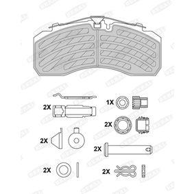 Bremsbelagsatz, Scheibenbremse BERAL 2925330004145674 mit 19% Rabatt kaufen