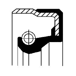 MERCEDES-BENZ PAGODE Verteilergetriebe Einzelteile - Original CORTECO 01020678B
