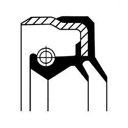 MERCEDES-BENZ SLK Verteilergetriebe Einzelteile - Original CORTECO 01025711B