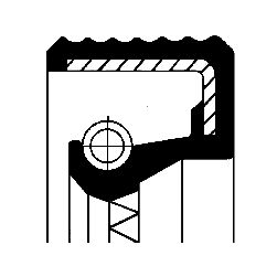 CORTECO: Original Verteilergetriebe Einzelteile 01036434B ()