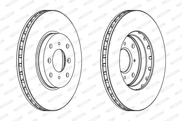 Bremsscheibe FERODO DDF1588-1 Bewertungen