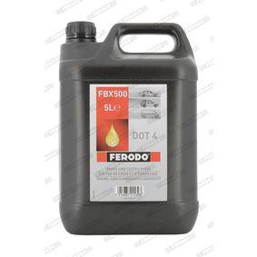 FBX500 FERODO Inhalt: 5l DOT 4 Bremsflüssigkeit FBX500 günstig kaufen